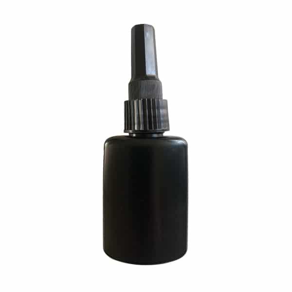 lege fles zwart 50ML